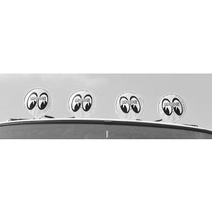 ムーンアイズ ヘッドライト カバー ロゴ無し10インチ (25cm)|mooneyes