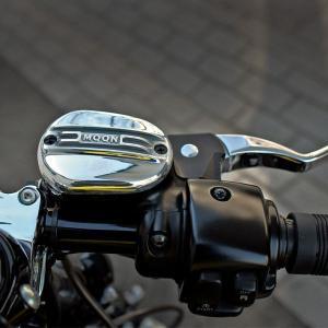 MOON Front Brake Master Cylinder Cover|mooneyes
