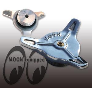 MOON Spinner Cap for Motorcycle ベント付き|mooneyes