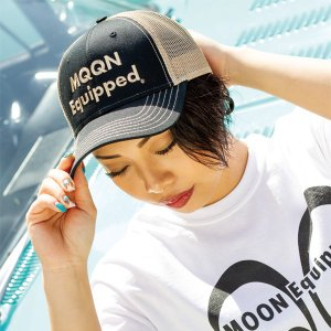 MOON Equipped ツイル キャップ|mooneyes