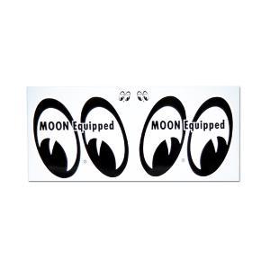 MOON Equipped (ムーン イクイップド) 4eyes ステッカー|mooneyes