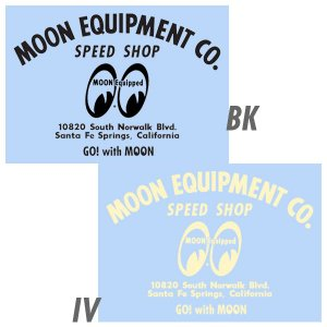 MOON EQUIPMENT SPEED SHOP デカール|mooneyes