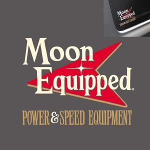 MOON Equipped (ムーン イクイップド)   Power & Speed Equipment 抜き ステッカー|mooneyes