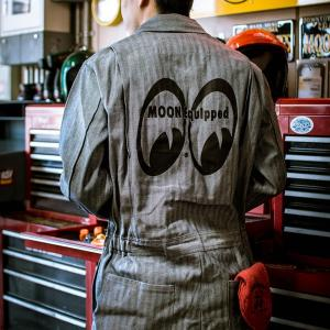 MOON Equipped (ムーン イクイップド)   カバーオール FS (長袖)|mooneyes