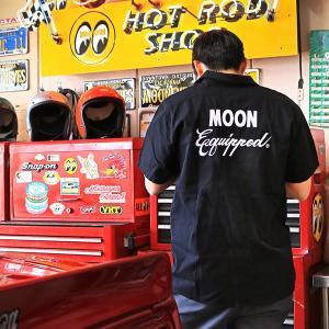 MOON Equipped (ムーン イクイップド) ワーク シャツ|mooneyes