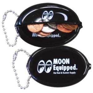 MOON Equipped (ムーン イクイップド)   オーバル コイン ケース mooneyes