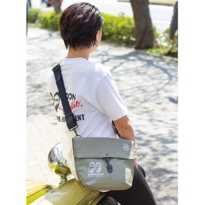 MOON Equipped (ムーン イクイップド)   横浜 キャンバス ヨット キャリー バッグ S|mooneyes