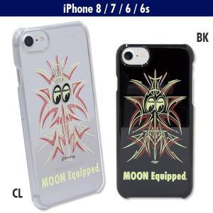 MOON Equipped (ムーン イクイップド) ピンストライプ iPhone7 & iPhone6/6s ハードケース|mooneyes