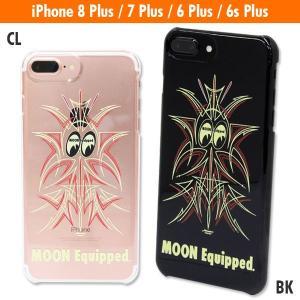 MOON Equipped (ムーン イクイップド) ピンストライプ iPhone7 & iPhone6/6s Plus ハードケース|mooneyes