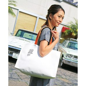 MOON Equipped (ムーン イクイップド) 横浜 キャンバス コンテナ グランデ トート バッグ|mooneyes