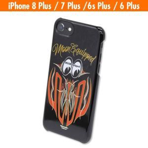 MOON Equipped スキャロップ iPhone8 Plus, iPhone7 Plus & iPhone6/6s Plus ハード ケース|mooneyes