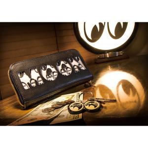 ムーンアイズ MOON Equipped x Bull Original (ブル オリジナル) レザー ジップ ウォレット|mooneyes