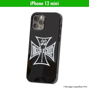 ムーンアイズ MOON Equipped Iron Cross iPhone 12 mini ハード ケース|mooneyes