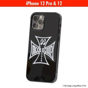 ムーンアイズ MOON Equipped Iron Cross iPhone 12, 12 Pro ハード ケース|mooneyes
