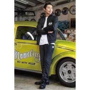 ムーンアイズ MOON Equipped ファブリック ポケット スウェットパンツ|mooneyes