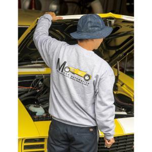ムーンアイズ MOON Equipped Yellow Roadster スウェットシャツ (トレーナー)|mooneyes