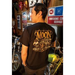 MOON Custom Cycle Shop (ムーン カスタム サイクル ショップ) Tシャツ