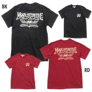 XXLサイズ ムーンアイズ MOONEYES 35th Anniv. ラウンド ロゴ Tシャツ|mooneyes
