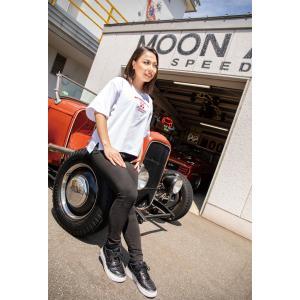 ムーンアイズ Speed Shop レディース Tシャツ|mooneyes