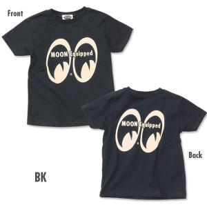 MOON Equipped (ムーン イクイップド) インファント Tシャツ (100cm〜120cm)|mooneyes