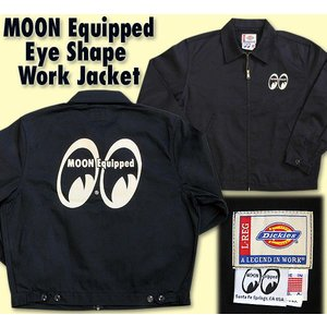 MOON Equipped (ムーン イクイップド)   Eye Shape Work Jacket|mooneyes