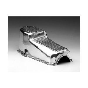 Finned Aluminum Oil Pan for SB Chevy。ポリッシュド アルミニウム...