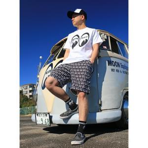MOON Equipped (ムーン イクイップド)  ショート パンツ|mooneyes