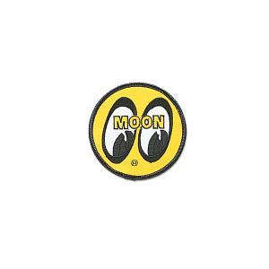 MOONEYES (ムーンアイズ) パッチ イエロー アイボール 8cm|mooneyes