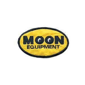 MOON Equipment オーバル パッチ 6×10cm|mooneyes