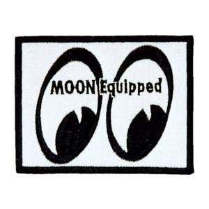 MOON Equipped (ムーン イクイップド)   ヴィンテージ パッチ|mooneyes