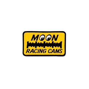 MOON Racing Cams パッチ 6.6×11.6cm|mooneyes