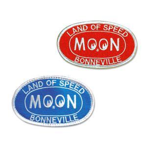 MOON Bonneville オーバル パッチ|mooneyes