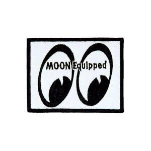 MOON Equipped (ムーン イクイップド)   ヴィンテージ パッチ(Sサイズ)|mooneyes