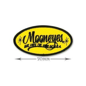 MOONEYES (ムーンアイズ) Oval Logo パッチ S|mooneyes