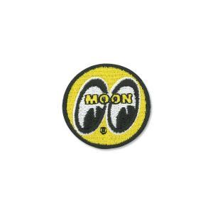 MOONEYES (ムーンアイズ) パッチ イエロー アイボール 4cm|mooneyes