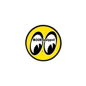 MOON Classic アイボール ステッカー|mooneyes