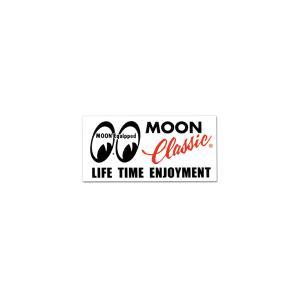 MOON Classic ロゴ ステッカー|mooneyes