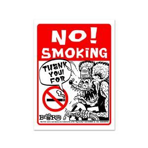 Rat Fink(ラットフィンク)  メッセージ ボード NO Smoking|mooneyes