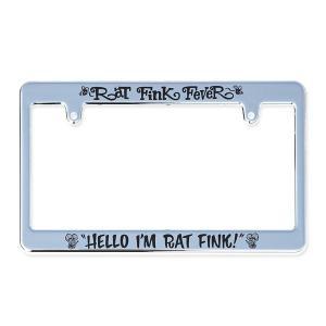 Rat Fink(ラットフィンク)  クローム ライセンス フレーム|mooneyes