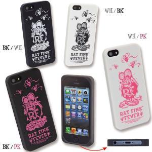 【50% OFF】 Rat Fink(ラットフィンク)  iPhone 5/5s/SE ジャケット|mooneyes