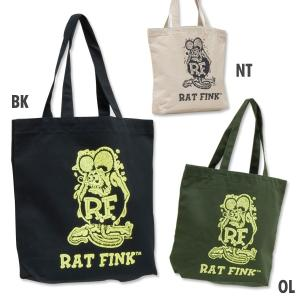 Rat Fink(ラットフィンク)  カラー トート バッグ|mooneyes