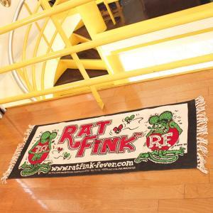 Rat Fink(ラットフィンク)  ロング マット|mooneyes