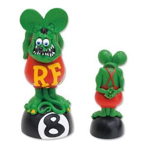 Rat Fink(ラットフィンク)  ボビング ヘッド オン 8ボール|mooneyes