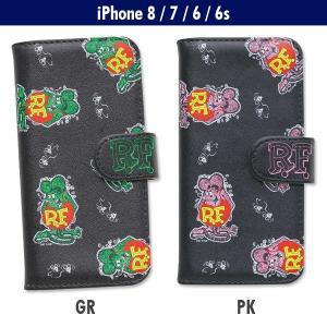 Rat Fink (ラットフィンク) iPhone7 & iPhone6/6s フリップ ケース|mooneyes