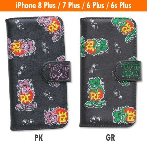 Rat Fink (ラットフィンク) iPhone7 Plus & iPhone6/6s Plus フリップ ケース|mooneyes