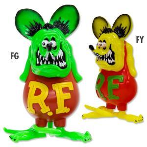 RAT FINK ビニール ドール フローレセント カラー|mooneyes