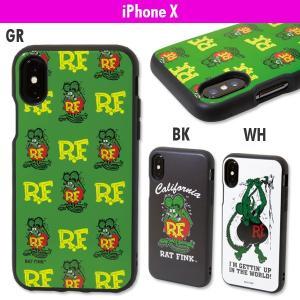Rat Fink (ラットフィンク)  IIIIfi+ (イーフィット) ケース for iPhone X|mooneyes
