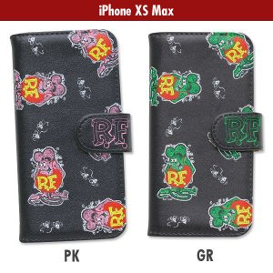Rat Fink iPhone XS Max フリップ ケース|mooneyes