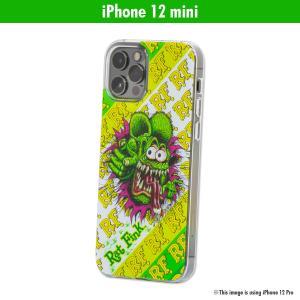 ムーンアイズ Rat Fink (ラットフィンク) iPhone 12 mini ハード ケース|mooneyes