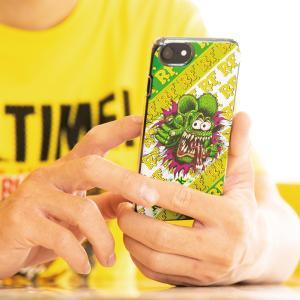 ラット フィンンク (Rat Fink) iPhone SE(2020), iPhone8, iPhone7 & iPhone6/6s ハード ケース|mooneyes